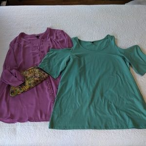 Two Torrid Blouses - Size 4